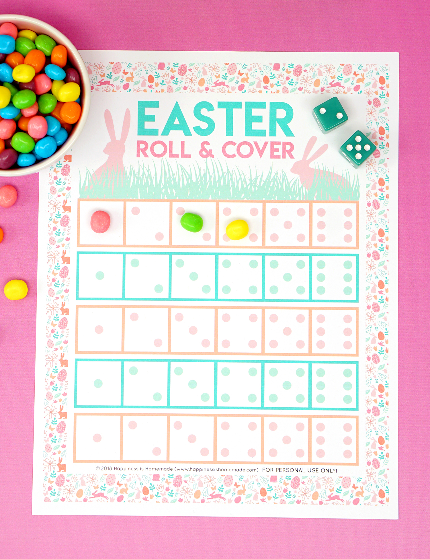 Ridiculous Printable Easter Games