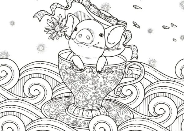 coloring pages to print for adults # 18