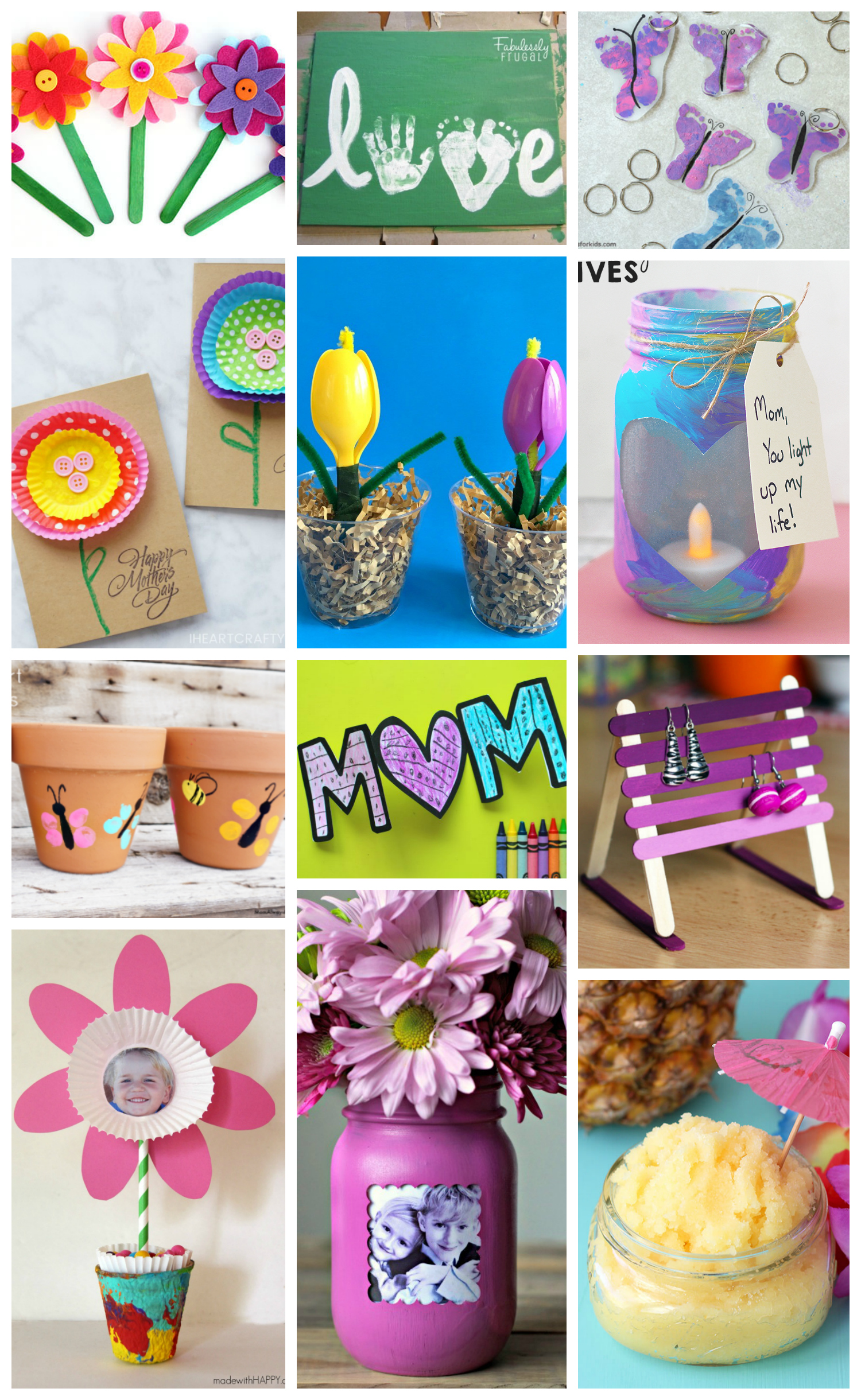 Easy Mother S Day Crafts For Kids
