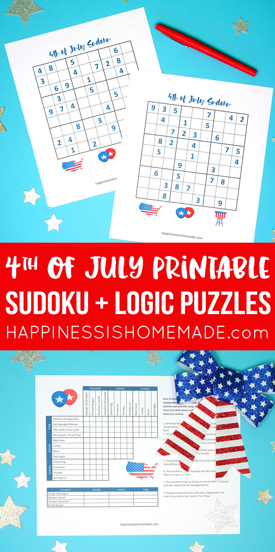 Best Logic Puzzles Printable