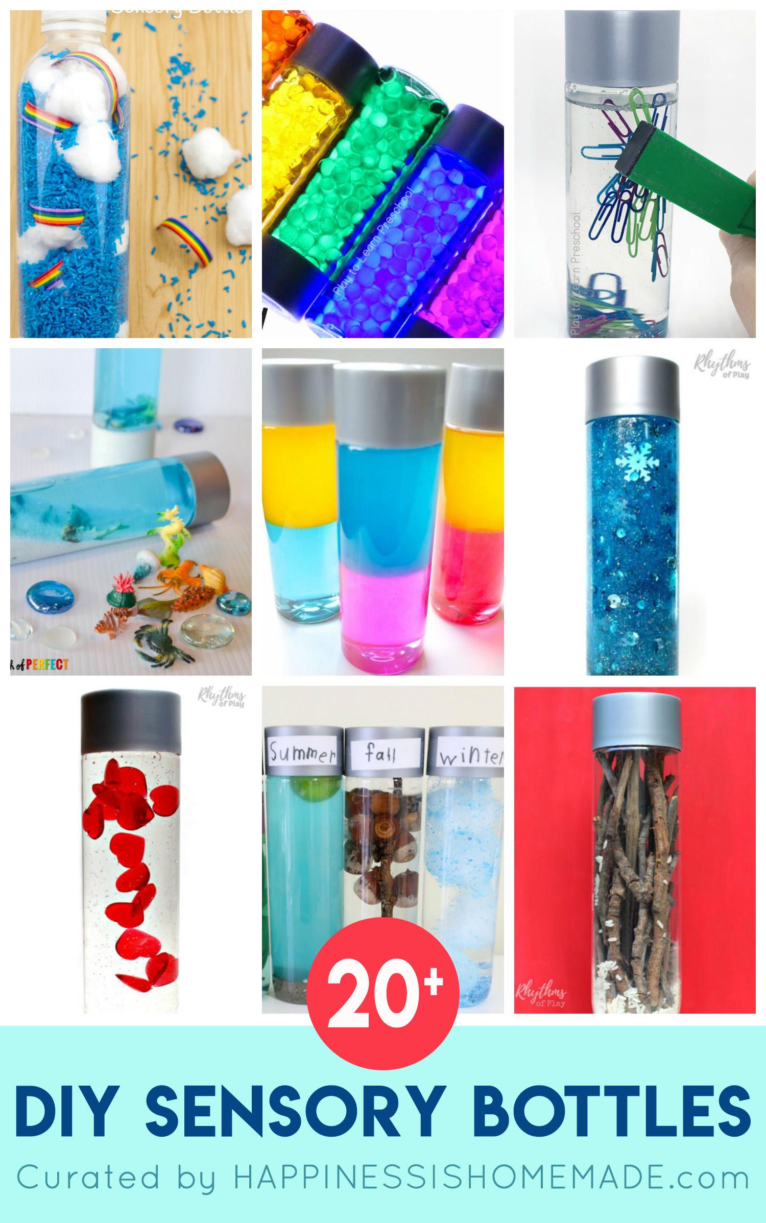 DIY Sensory Bottles for Kids