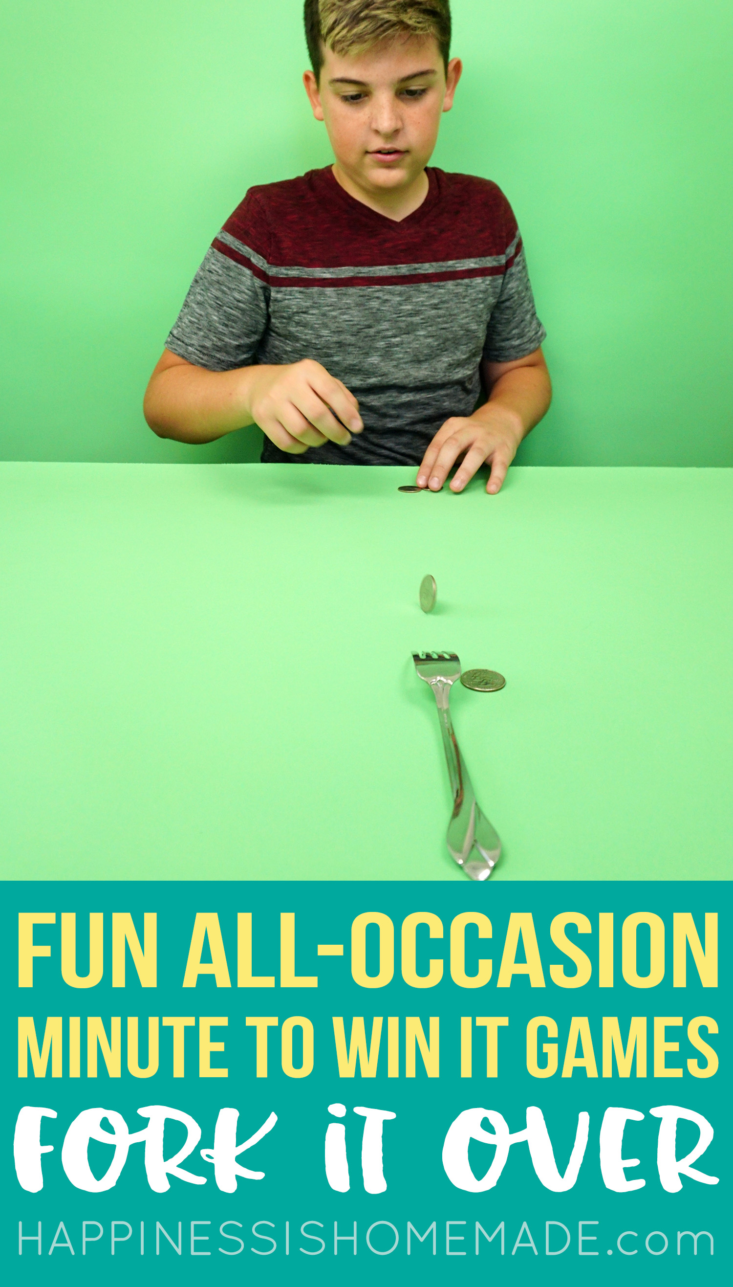 Minute to Win It Games - Fork it Over