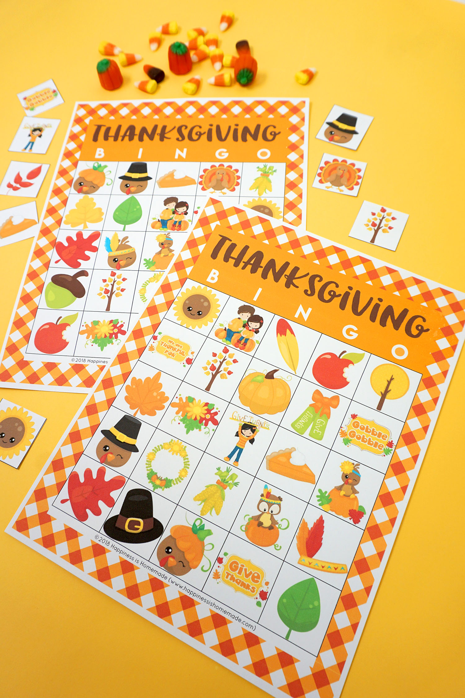 Free Printable Thanksgiving Bingo That Are Massif