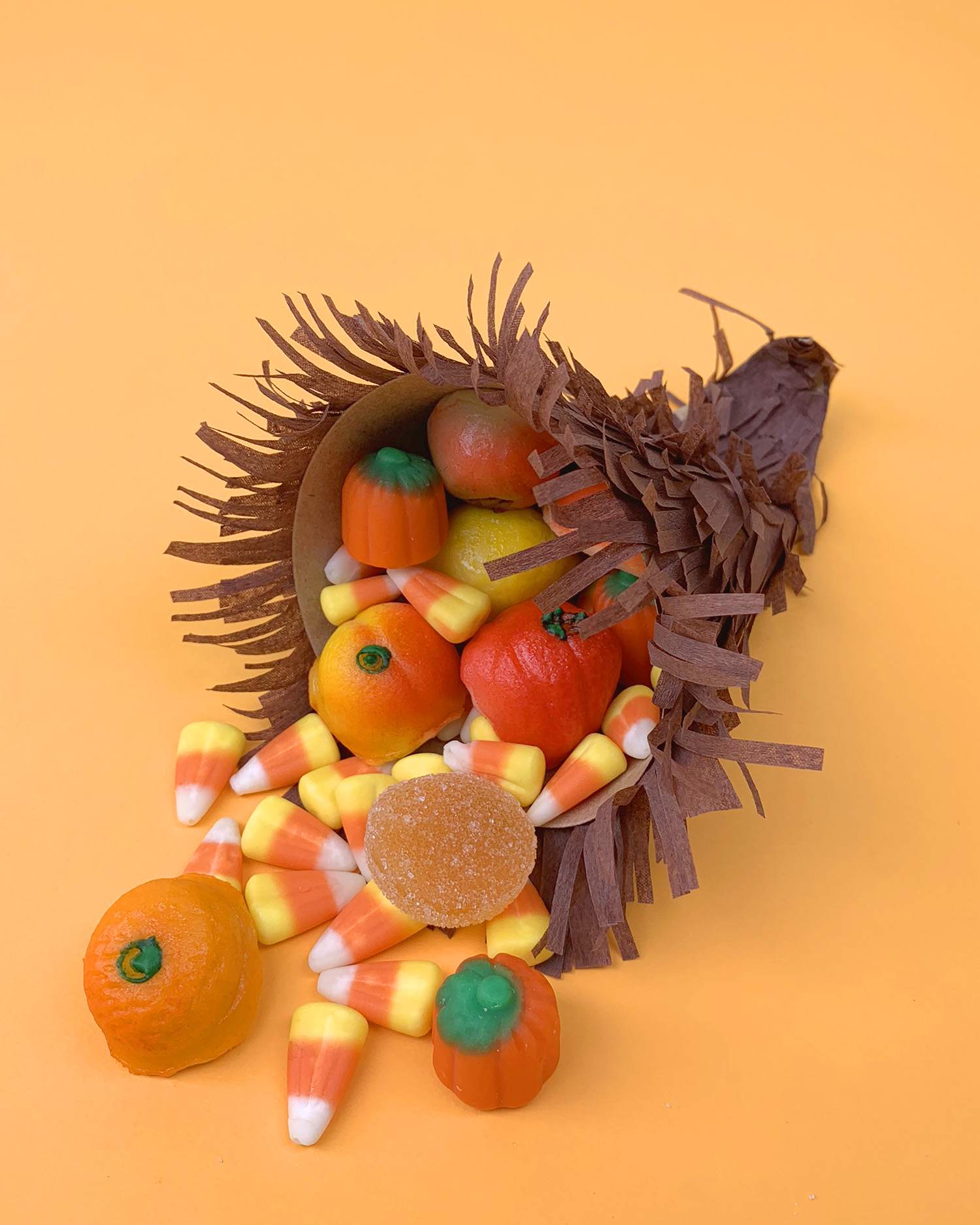 Candy Cornucopia Thanksgiving Craft Happiness Is Homemade