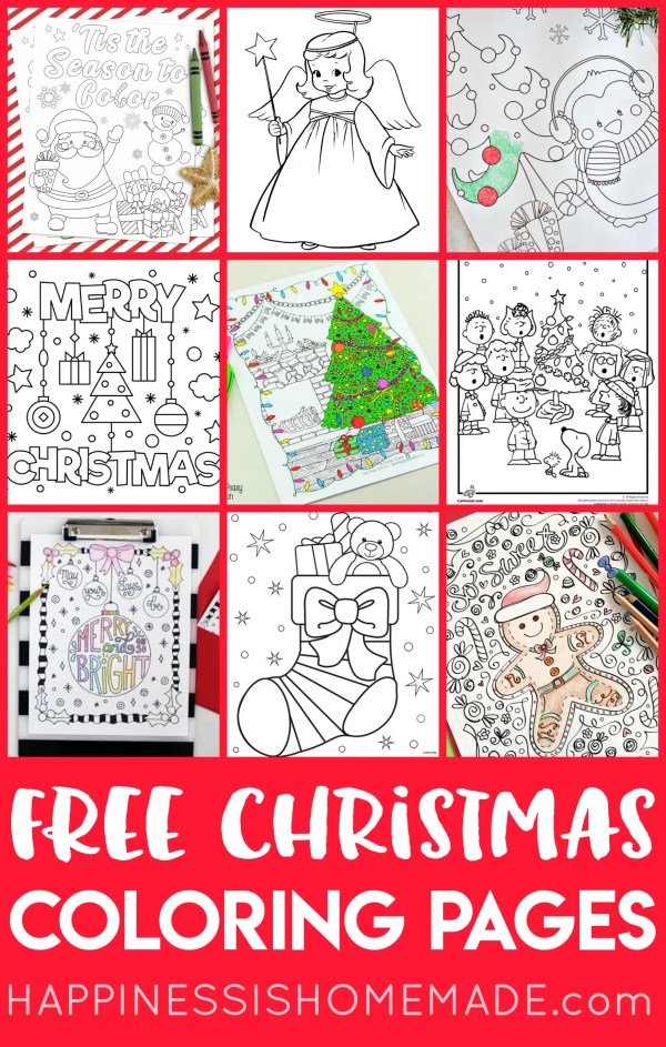 free printable holiday coloring pages # 7