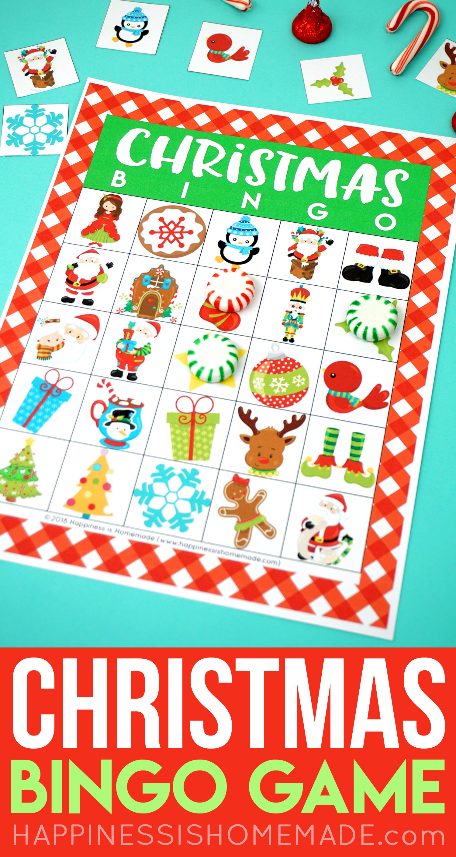 Free christmas bingo games