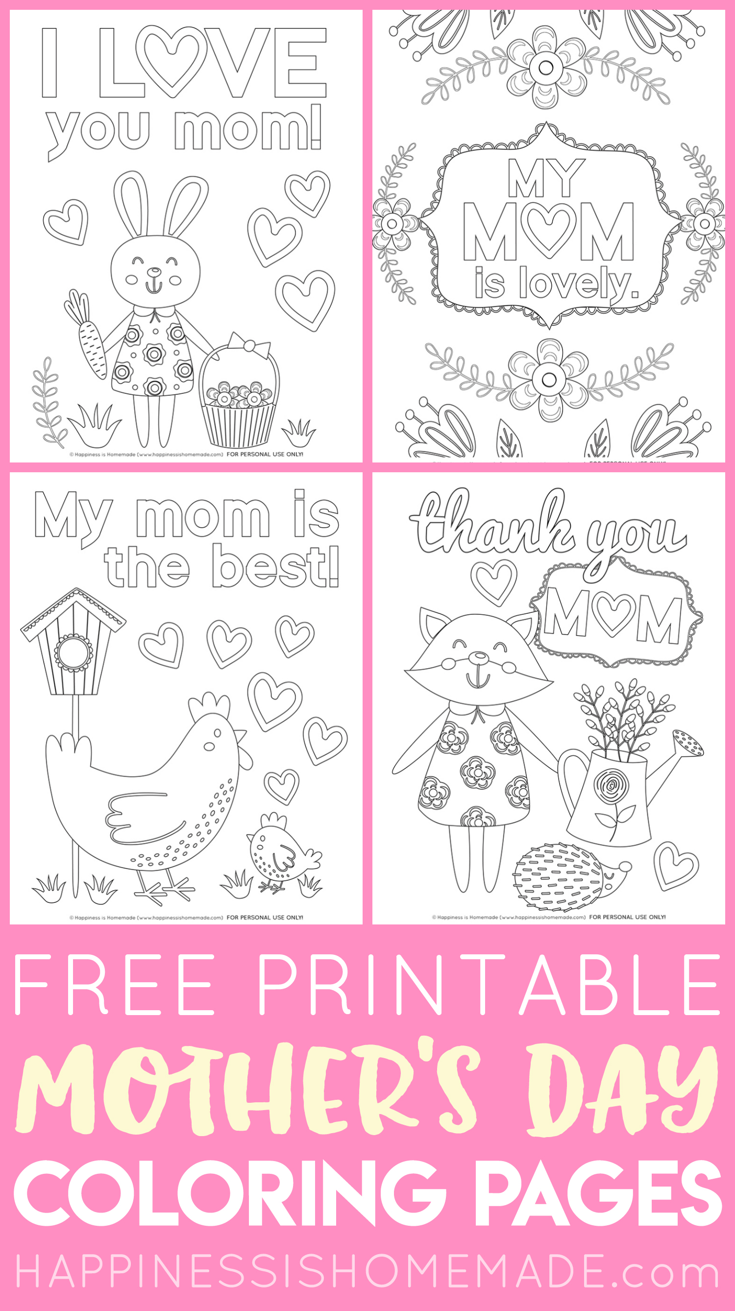 Free Printable Mother S Day Cards