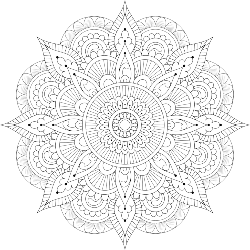 Mandala Coloring Pages For Adults Amp Kids