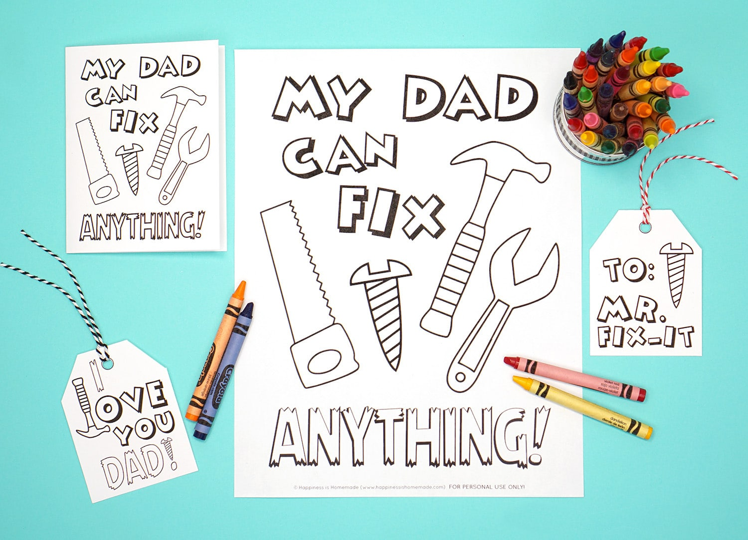 20 Free Father S Day Printables
