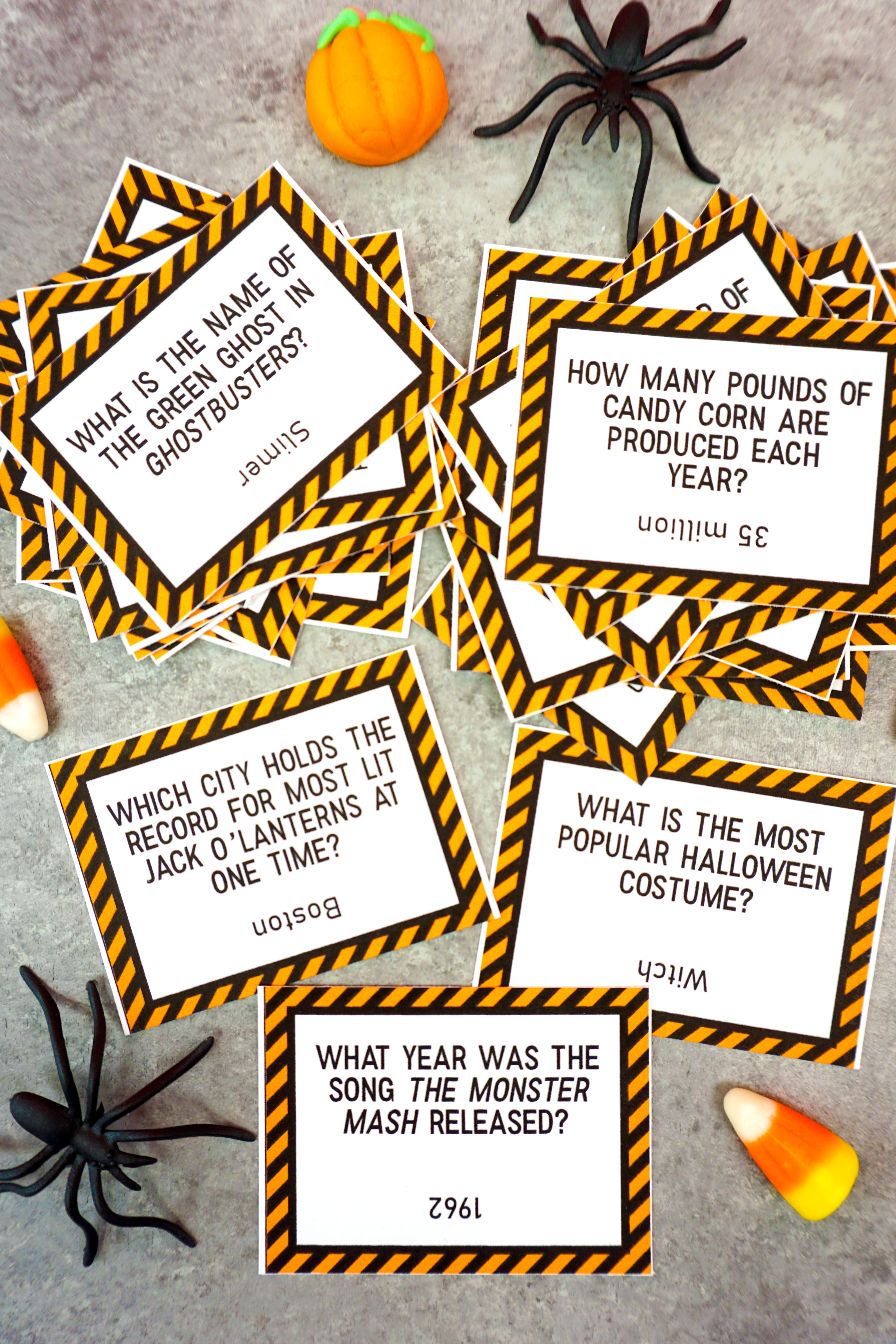 Halloween Trivia Questions And Answers Free Printable That