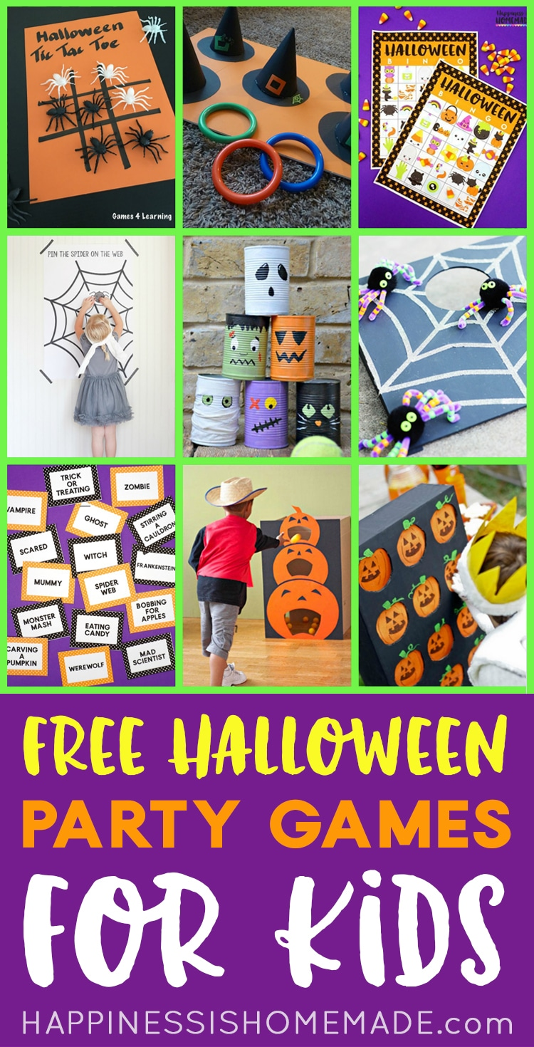 Free Halloween Games For Kids
