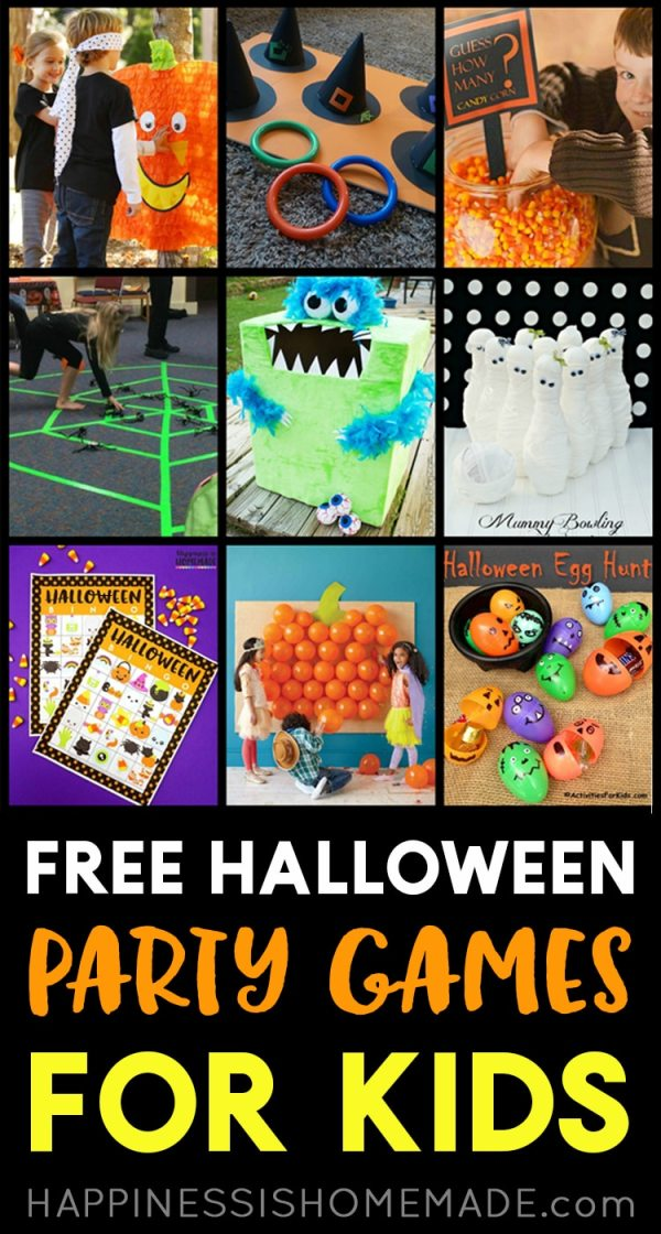 free halloween party games printables # 76