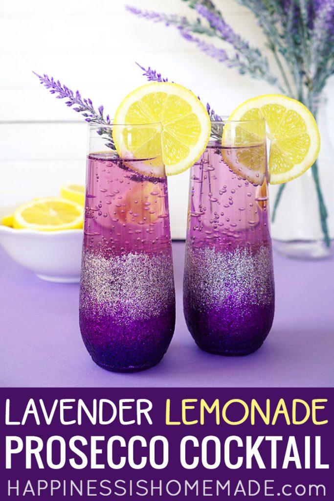 Lavender Lemonade Prosecco Cocktail