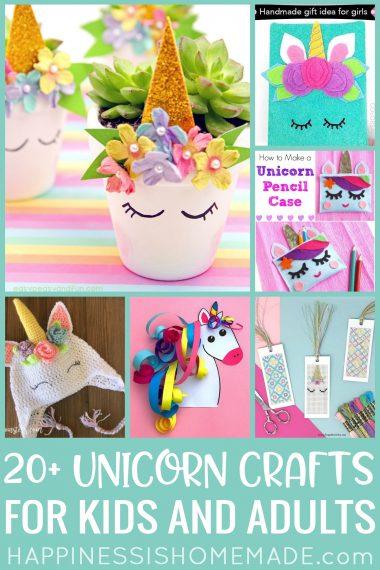 20+ Unicorn Crafts For Kids