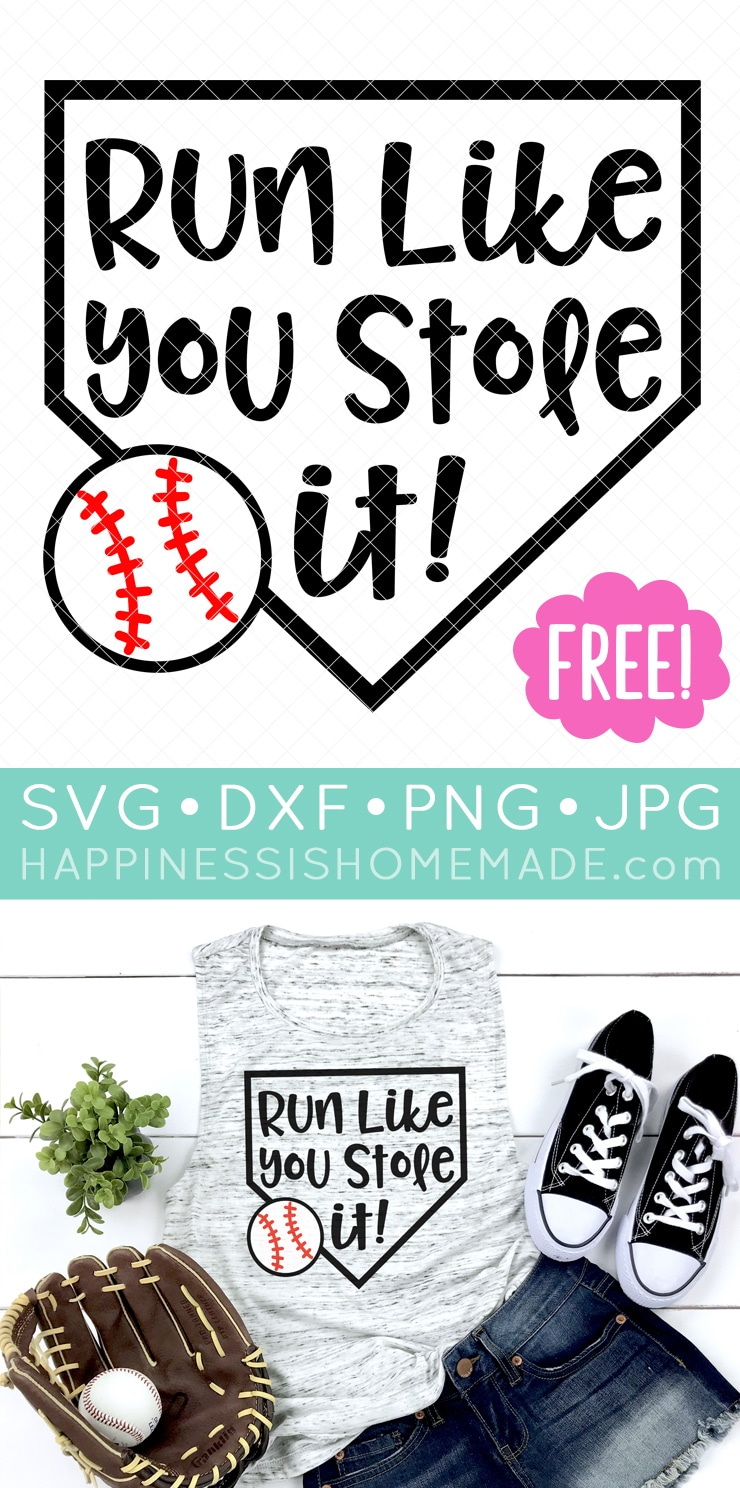 Download 15 Free Baseball SVG Files for Cricut & Silhouette