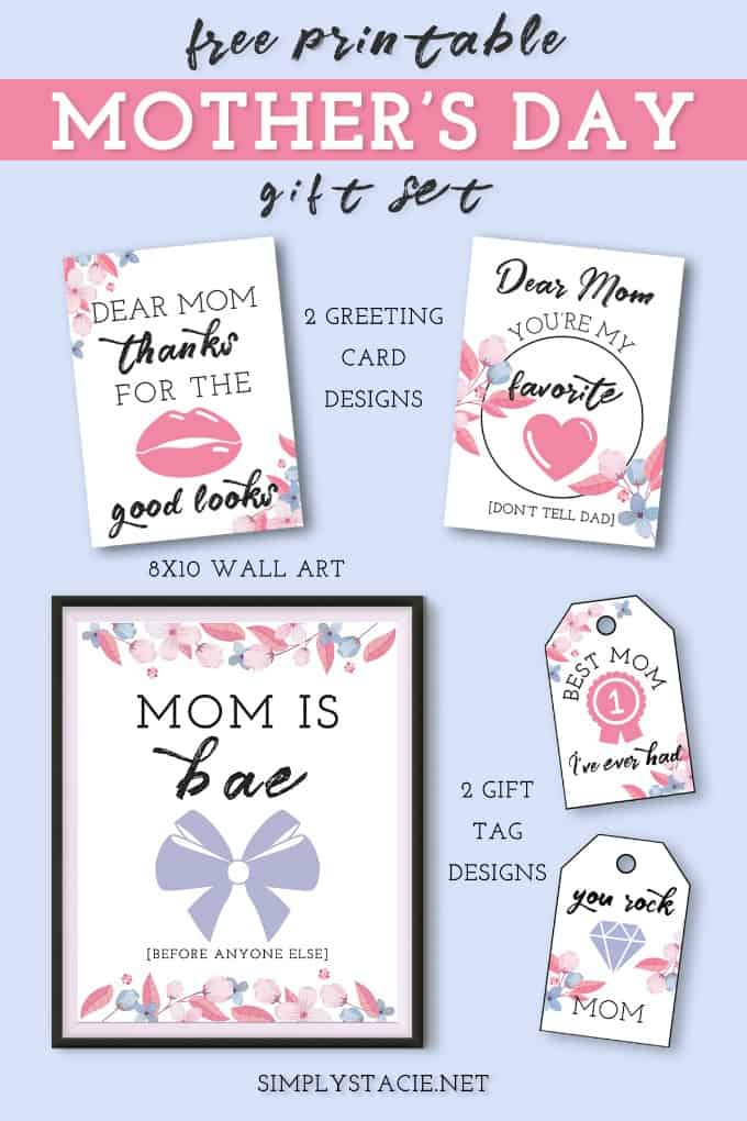25+ Free Mother's Day Printables - Happiness Is Homemade