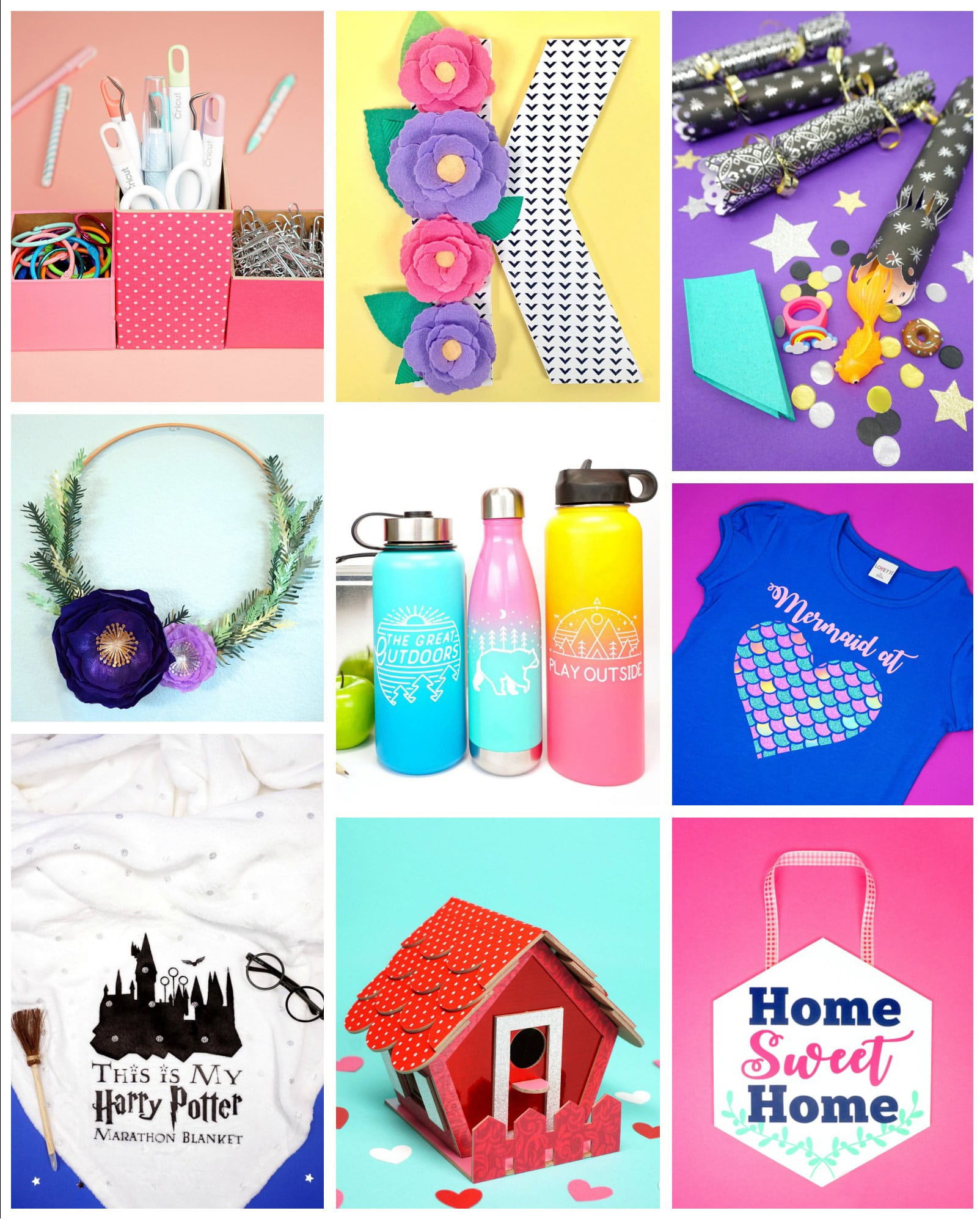 Collage of The Best Cricut Maker Project Ideas