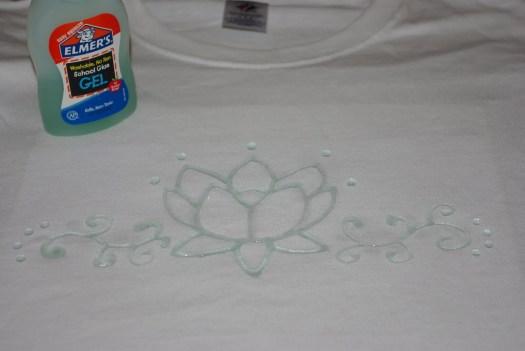 Glue Batik Shirts Tutorial