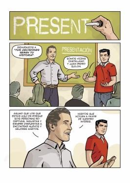 comic coaching