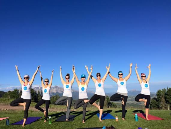 Yoga retreat in Telluride with Natalie