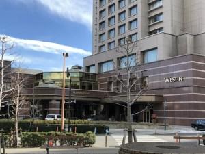 SPGアメックスの無料宿泊特典でウェスティンホテル東京に宿泊|マリオットのプラチナエリートでスイートルームにアップグレード