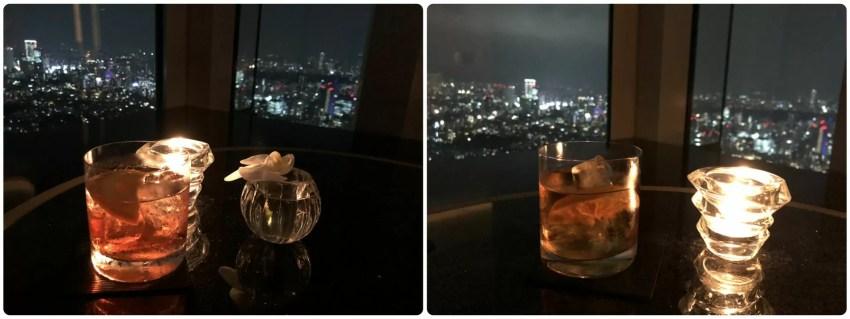 (左)Cognac Old Fashion  (右)Tokyo Negroni