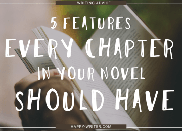 5 Features Good Novel Chapters Have