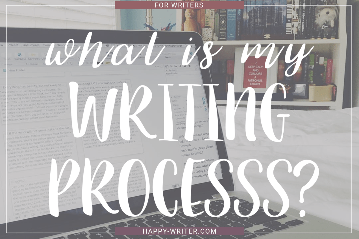 What Is My Writing Process? (BEAUTIFUL PEOPLE)