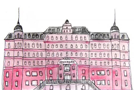 happy acorn the grand budapest hotel