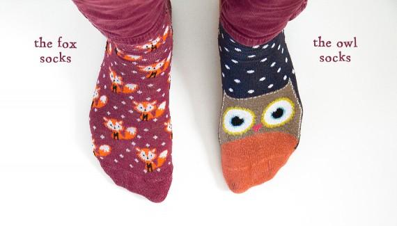 happy acorn sokken