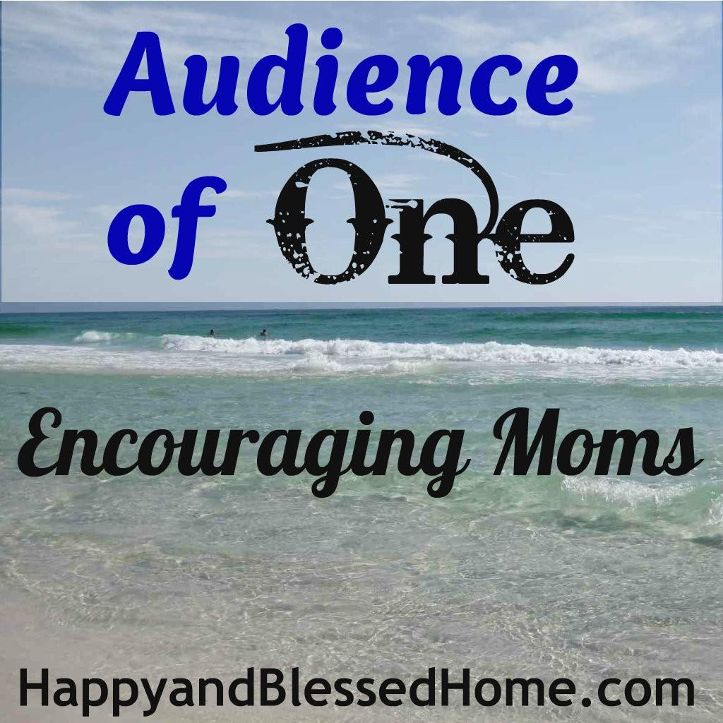 Au Nce Encouraging Moms