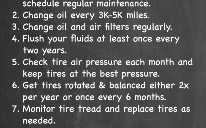 10 Tips To Keep Your Car Running Righ