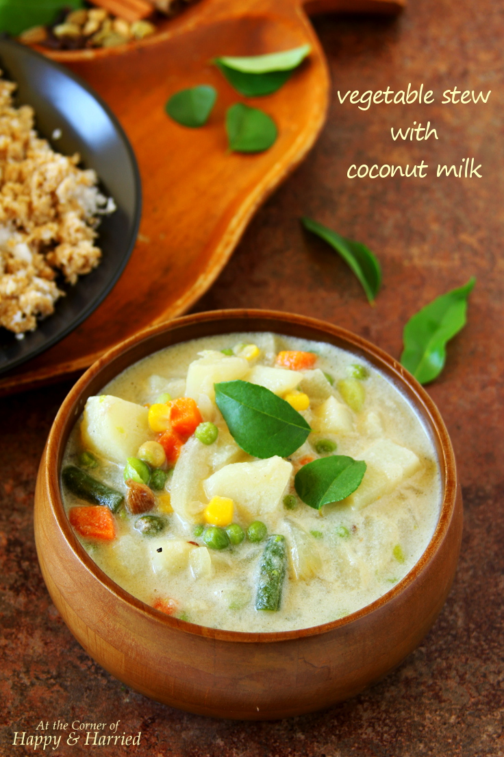 this is a simple and mild vegetable curry prepared in kerala and