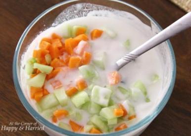 Cucumber Carrot Raita 1
