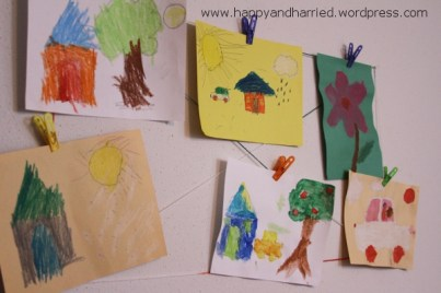 Kids Artwork Display Wall 5