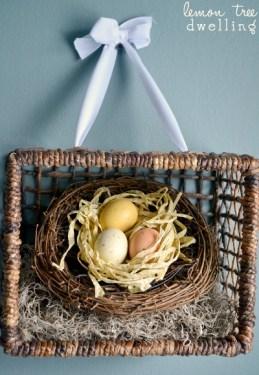 Basket wreath inspiration