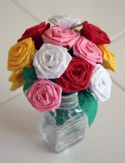 Crepe Roses Inspiration