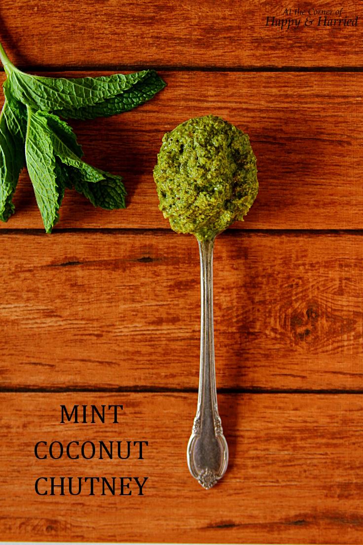Mint Coconut Chutney