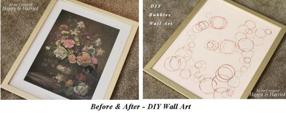 DIY Bubbles Wall Art
