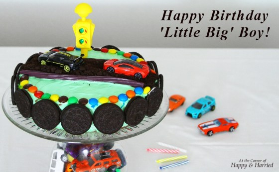 Boys Car Birthday Cake