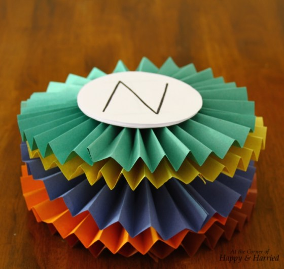 Colorful Paper Accordions