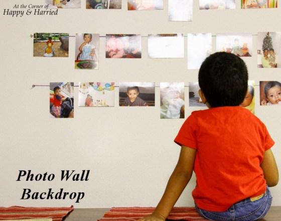 Photo Wall Backdrop