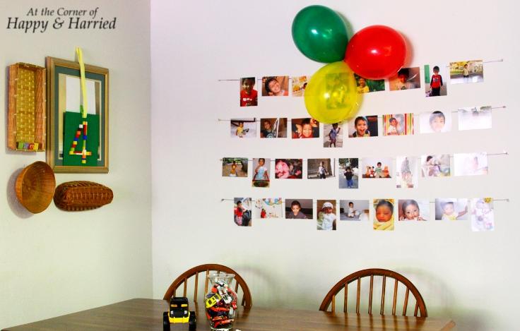 Simple Birthday Party Decor