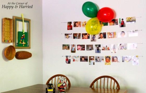 Simple Birthday Decor at Home