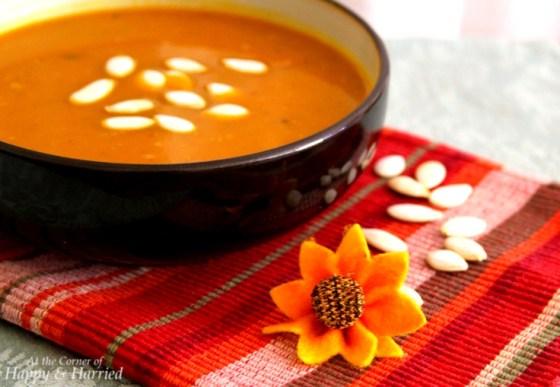 Comfort Food - Butternut Squash Soup