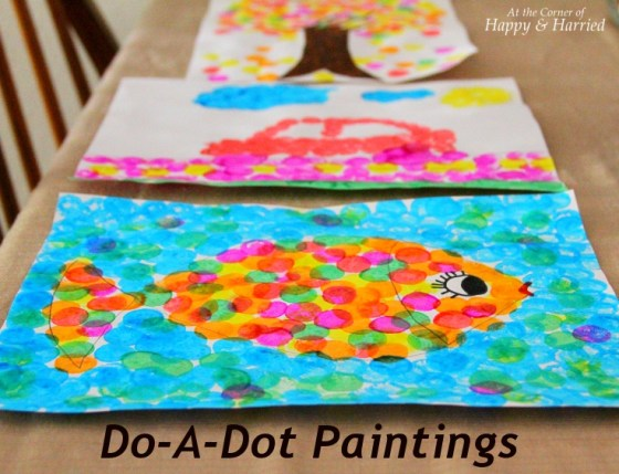 Do-A-Dot Paintings