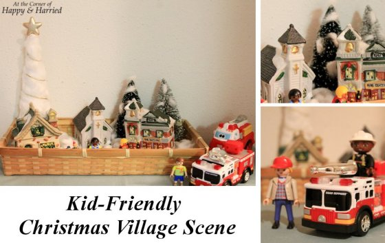 Kid-Friendly Christmas Village Scene