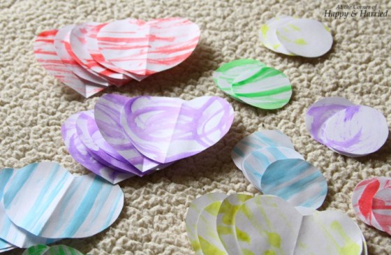 Photography Styling Challenge #8 - Patterns - Watercolor Paper Shapes