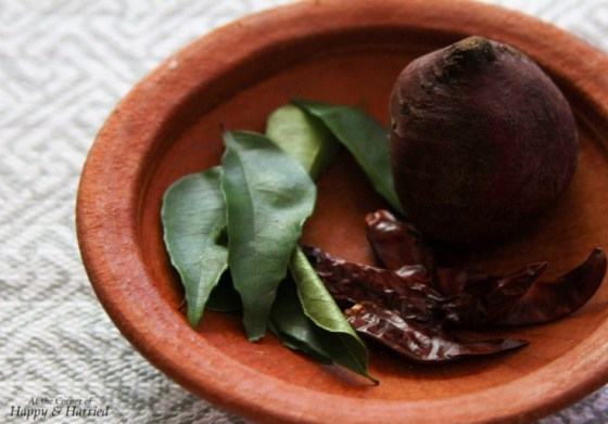 Beetroot Pachadi Ingredients