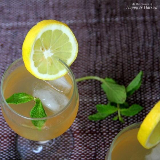 Lemon-Mint-Ginger Cooler